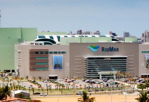 shopping riomar, inaugurado em 2014 em fortaleza, no ceará