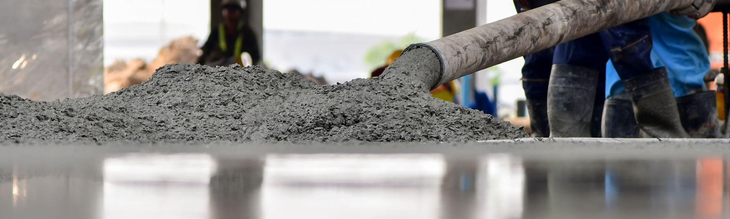 produção de concreto na cimento apodi